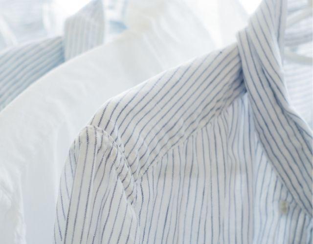 白いシャツの写真