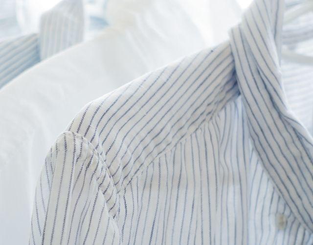 ストライプシャツの写真