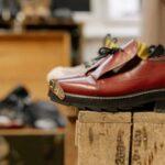 中古の革靴
